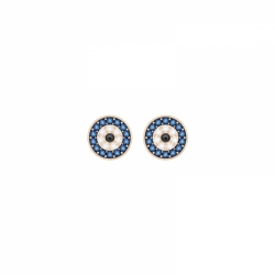 Swarovski Symbolic Pierced Earrings Evil Eye