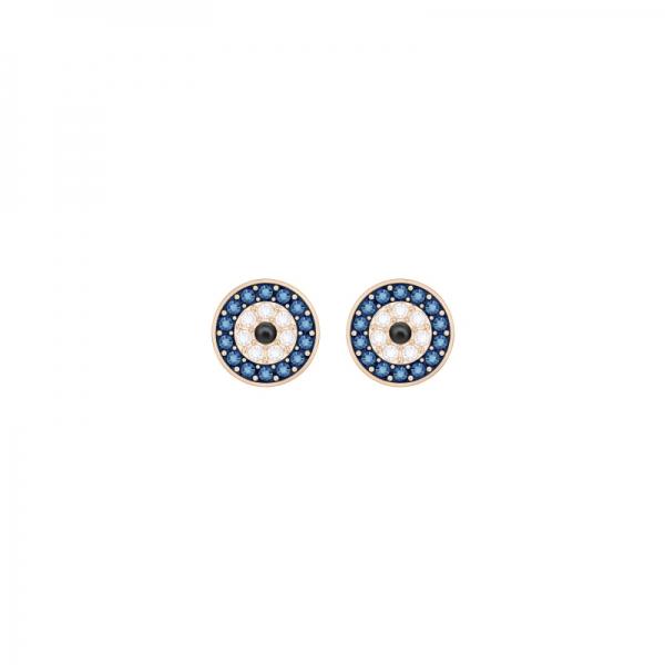 Swarovski Symbolic Pierced Earrings Evil Eye