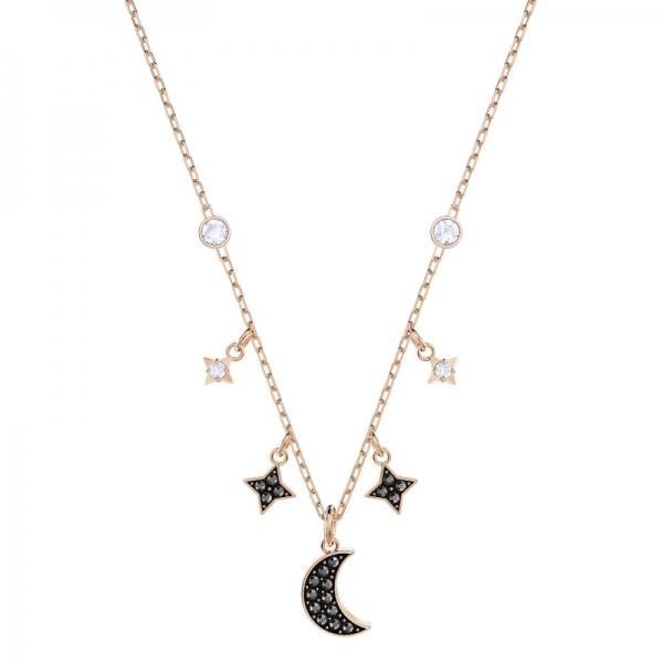 Swarovski Symbolic Necklace Moon