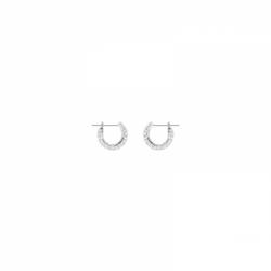 Stone Pierced Earrings Small