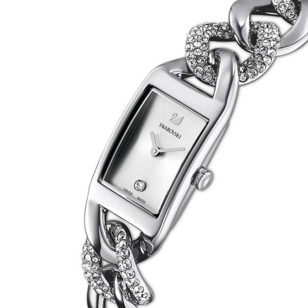 Zegarek Cocktail W Kolorze Srebrnym