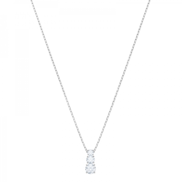 Attract Trilogy Pendant Round, Czwh/rhs