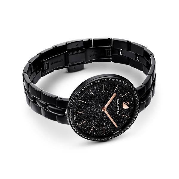 Zegarek Cosmopolitan - Metalowa Bransoleta W Kolorze Czarnym