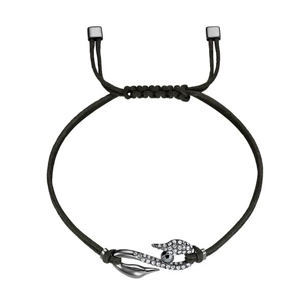 Swarovski Power Collection Bracelet S Hook, Jet/cry/rus M