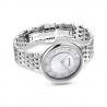 Zegarek Crystalline Chic - Metalowa Bransoleta W Kolrze Srebrnym