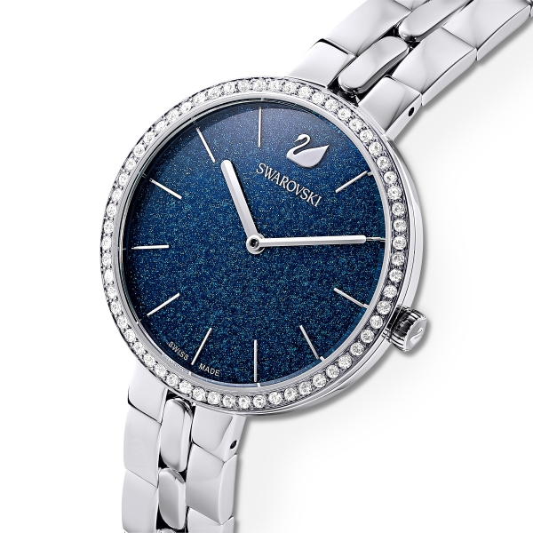 Zegarek Cosmopolitan W Kolorze Srebrnym, Mb Sts/blu/sts