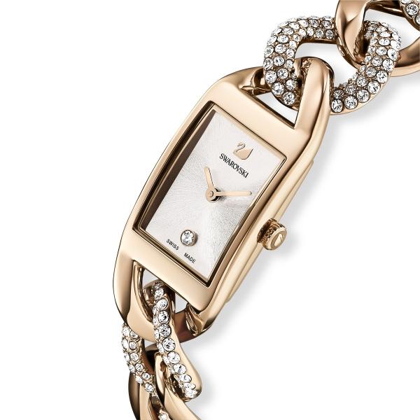 Zegarek Cocktail W Kolorze Szampańskiego Złota