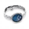Zegarek Cosmopolitan, bransoleta z metalu, niebieski, stal nierdzewna