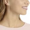 Lifelong Bow Pierced Earrings Medium, Cry/mix