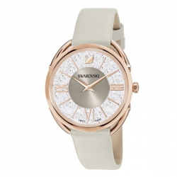 Crystalline Glam Leather Strap