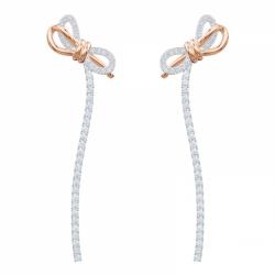 Lifelong Bow Pierced Earrings Medium