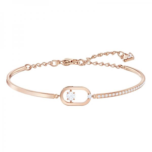 Sparkling Dance Bracelet Oval Pave