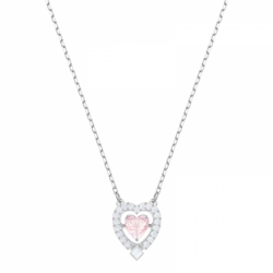 Sparkling Dance Necklace Heart