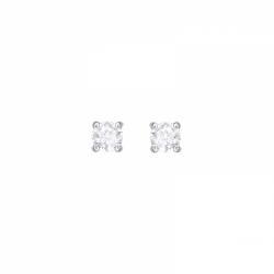 Attract Pierced Earrings Round
