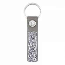 Glam Rock Key Ring Gray