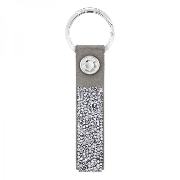 Glam Rock Key Ring Gray