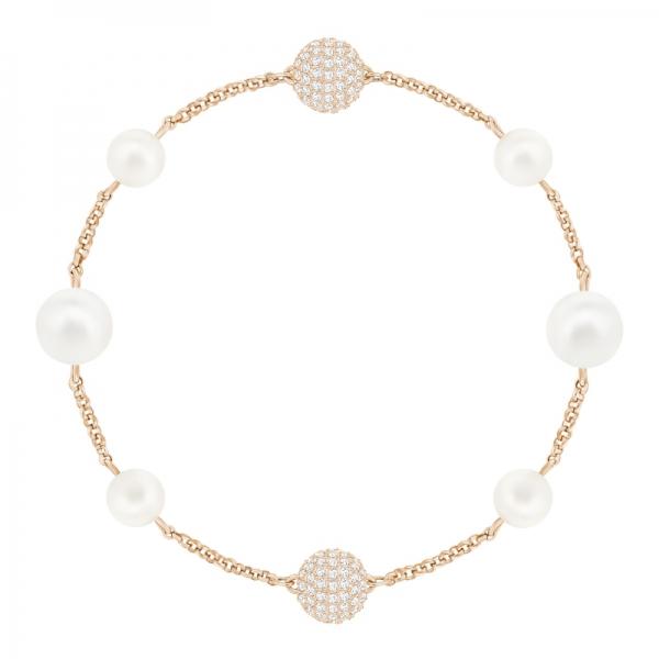Swarovski Remix Collection Mixed White Crystal Pearl