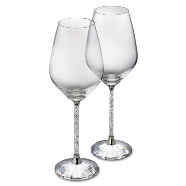 Crystalline White Wine Glasses (set Of 2)