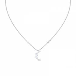 Moonsun Necklace Moon, Czwh/rhs