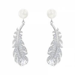 Nice Pierced Earrings Pearl