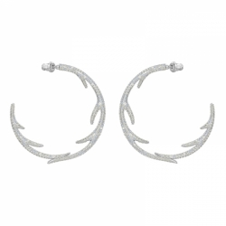 Polar Bestiary Pierced Earrings Hoop Hoops