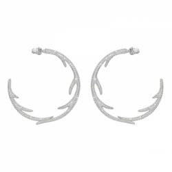 Polar Bestiary Pierced Earrings Hoop Hoops, Lmul/rhs
