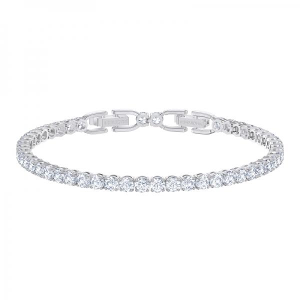 Tennis Deluxe Bracelet, Czwh/rhs M