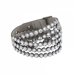 Swarovski Power Collection Bracelet, Light Gray