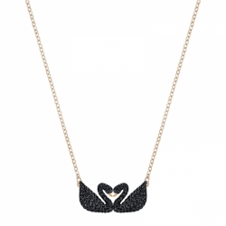 Iconic Swan Necklace Double