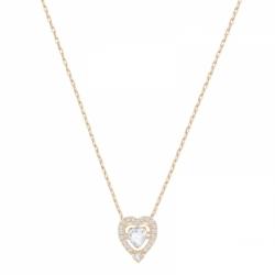 Sparkling Dance Necklace Heart