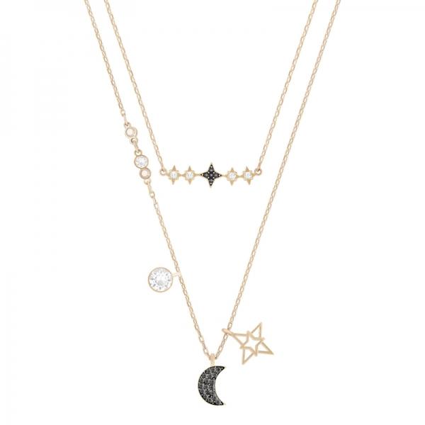 Swarovski Symbolic Necklace Moon Set