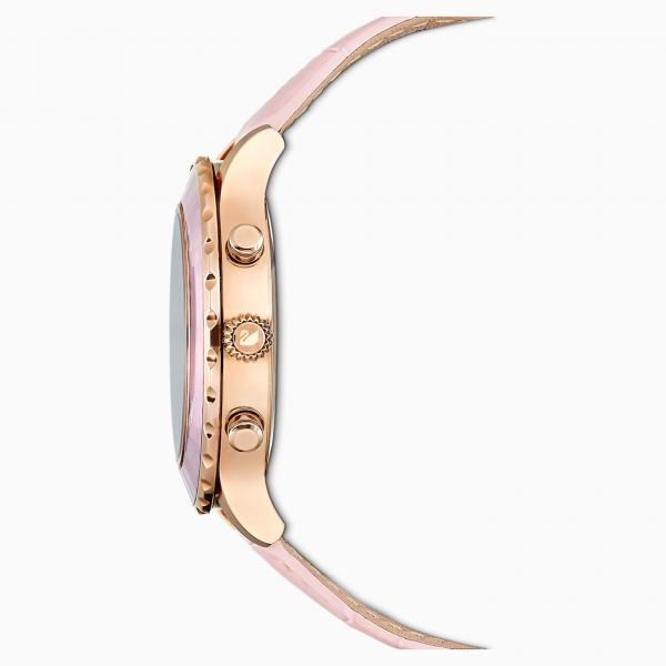 Octea Lux Chrono Leather Strap