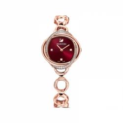 Zegarek Crystal Flower - Melatlowa Bransoleta W Kolorze Różowego Złota