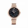 Zegarek Crystalline Chic - Metalowa Bransoleta W Kolorze Różowego Złota